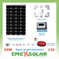 Emex solar 50W KIT 2