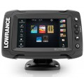 Lowrance Elite 5ti Total scan