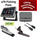 Raymarine A78 Fishing Pack